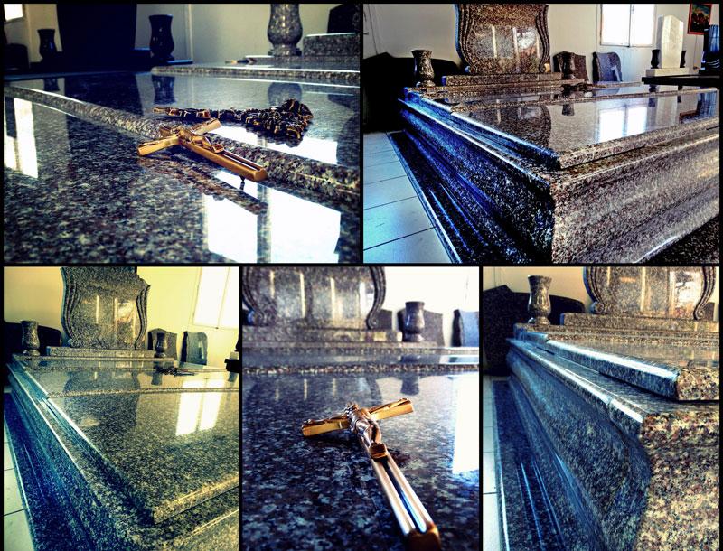 Sírkő síremlék urnasír egyedi sír sírköves Orosháza bemutatóterem 003